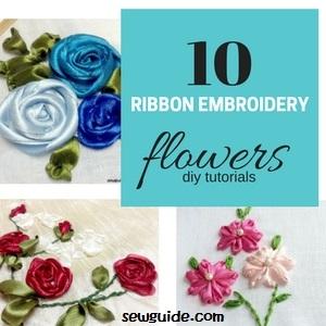 flores de bordado tibbon