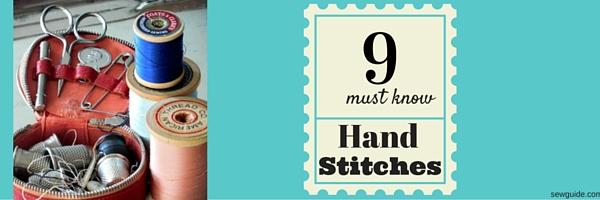 como coser a mano