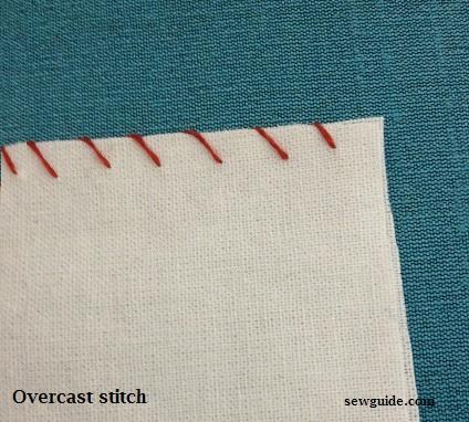 cómo coser puntadas cubiertas