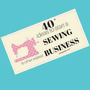 negocio de costura