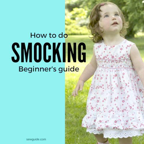 como hacer smocking