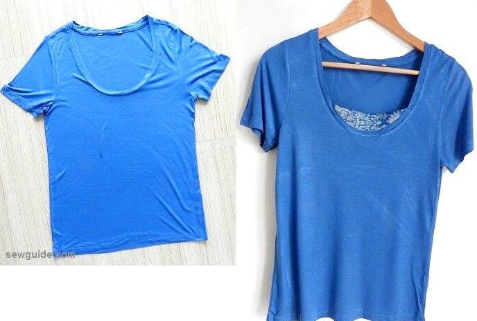 ideas de remodelación de camisetas