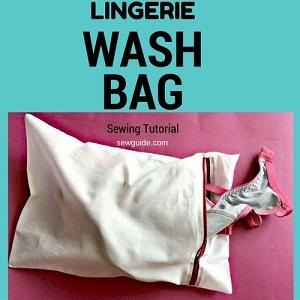 bolsa de lavado de lencería