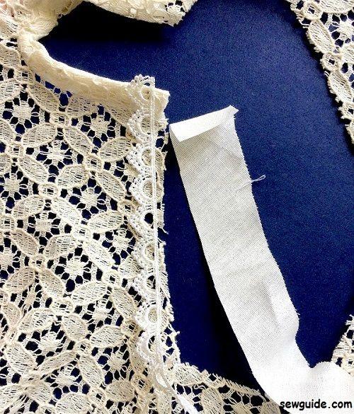 como coser un yugo