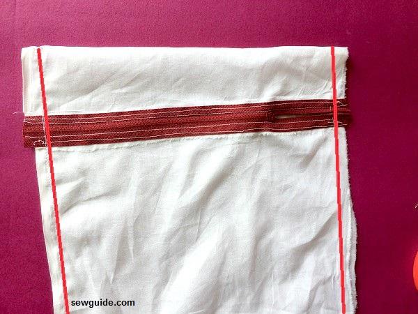 cómo hacer una bolsa de lencería