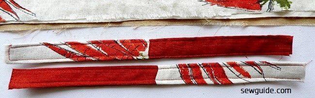 costura de bolsas de supermercado