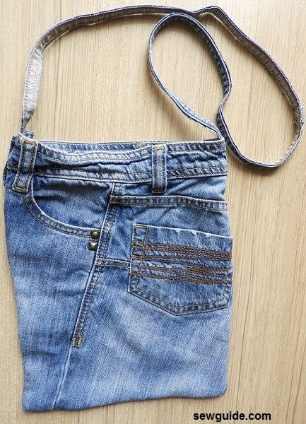 tutorial de bolsa de jean