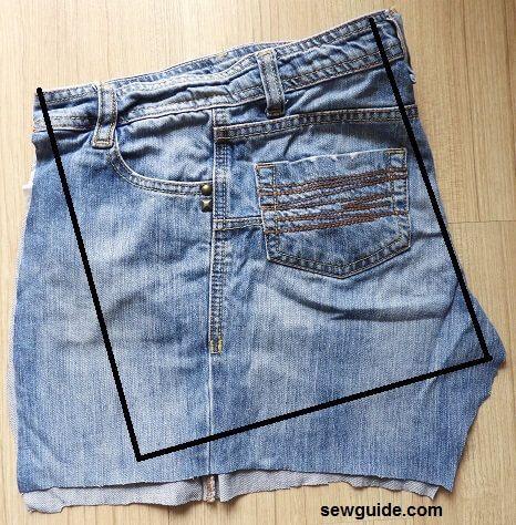 bolsa de jean diy
