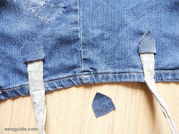 bolsa de jeans diy