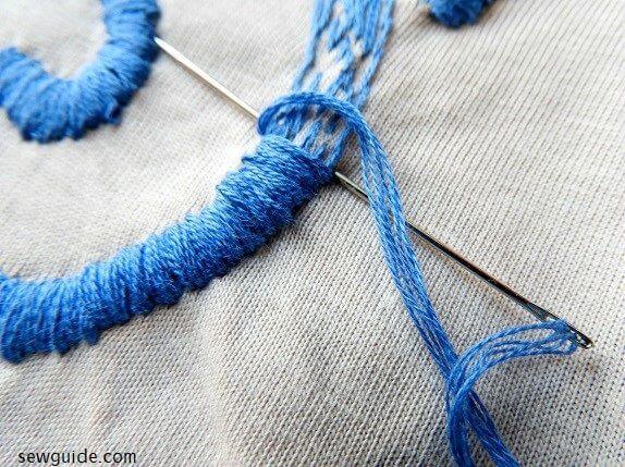 cómo bordar camisetas