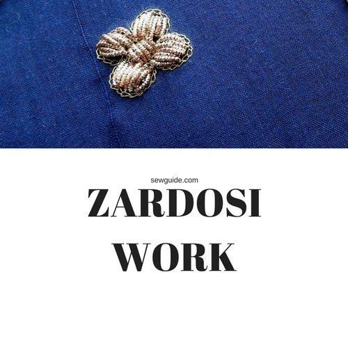 como hacer el trabajo de zardosi