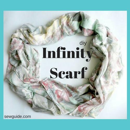 como hacer una bufanda infinita