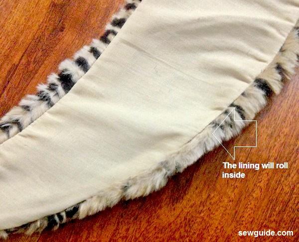 bufanda de piel sintética diy