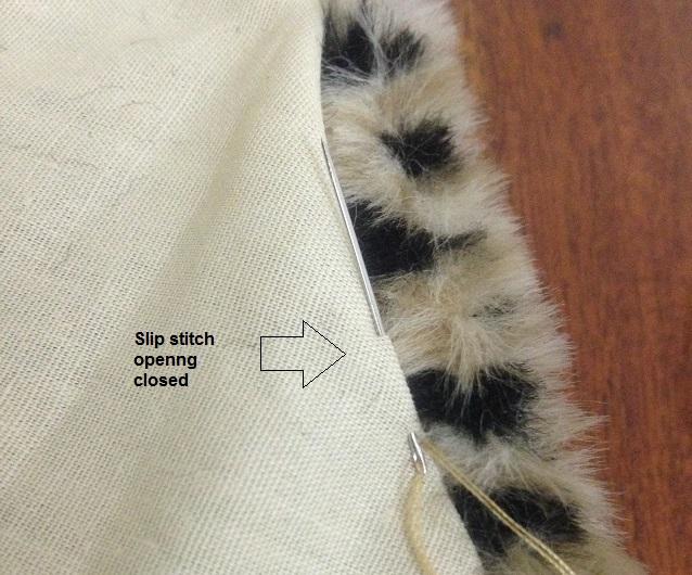 bufanda de piel sintética
