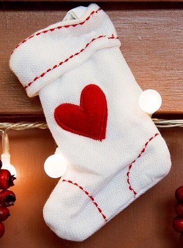 calcetín de navidad diy