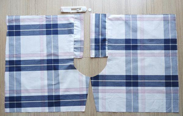 patrón de costura de calzoncillos