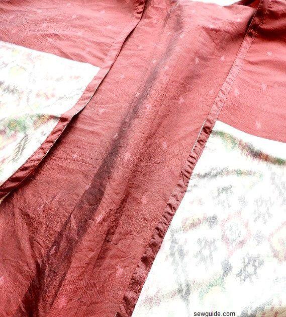 patrón de cardigan de kimono