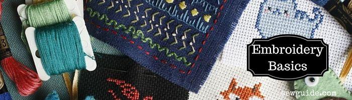 cómo coser bordados