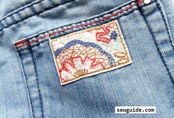 cubrir agujeros en jeans