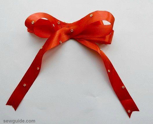 corbata de arcos de navidad