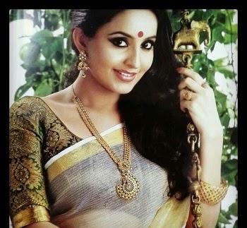 Cómo combinar kerala sari