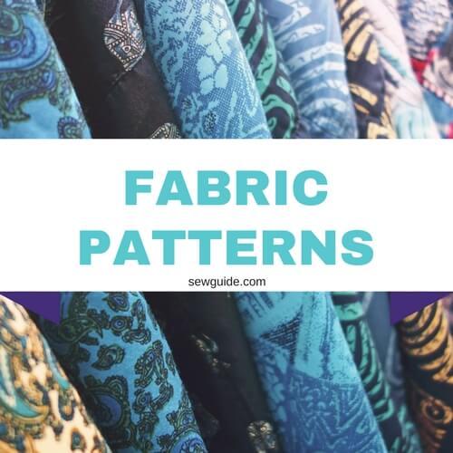 patrones de tela