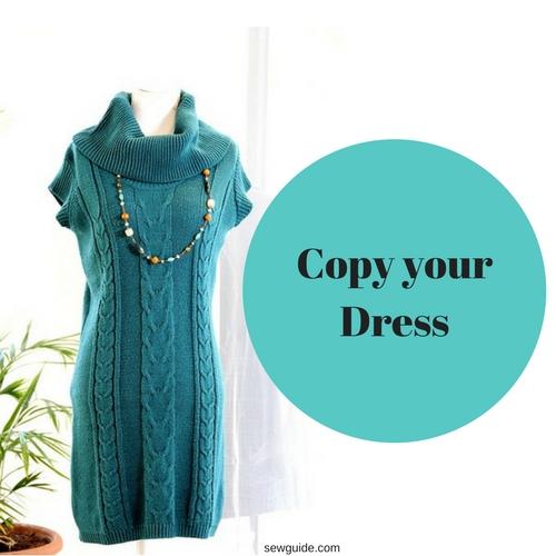 copiar vestido viejo