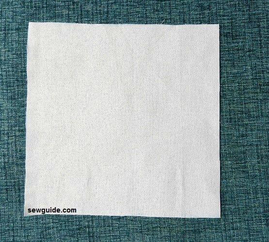 Cómo hacer esquinas ingleteadas en servilletas