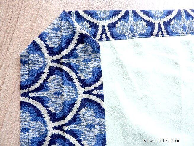 tutorial de costura de manta de bebé