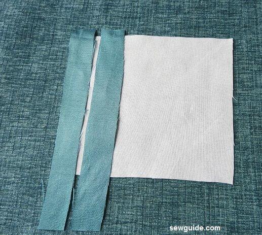 como coser esquinas ingleteadas