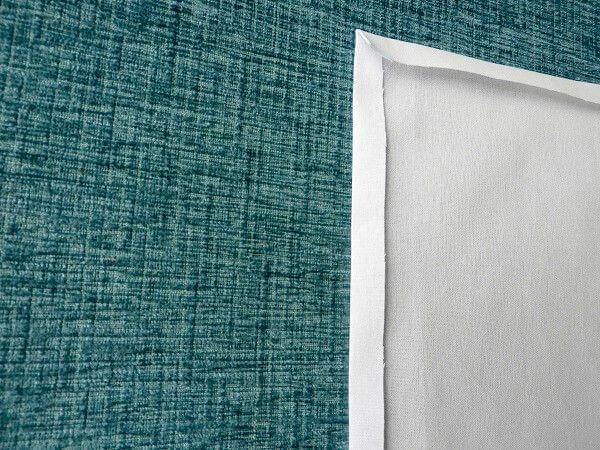 cómo coser esquina ingleteada