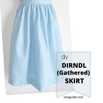como coser faldas