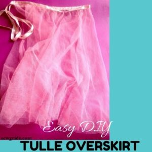 falda de tul diy