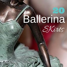 faldas de bailarina