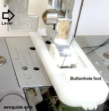 Cómo coser ojales con su máquina de coser