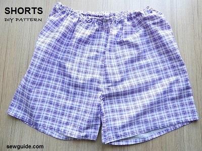 como coser pantalones cortos