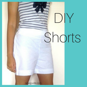 patrón de pantalones cortos