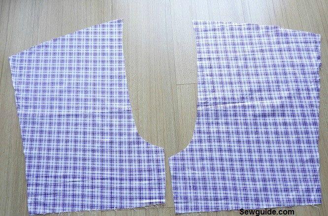 pantalones cortos de coser