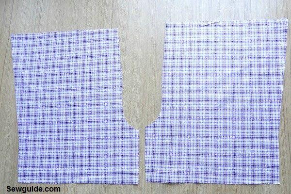 coser pantalones cortos