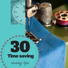 como ahorrar tiempo cosiendo