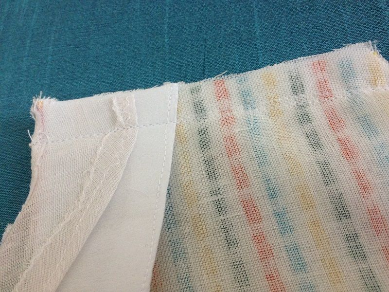 cómo coser un top de salwar simple