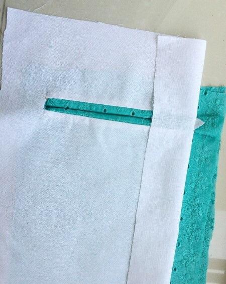 Cómo coser bolsillos ribeteados