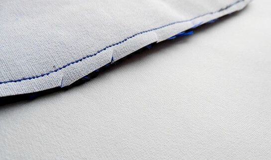 monedero de tela fácil de coser