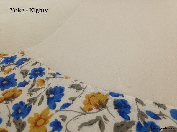patrón nocturno yugo