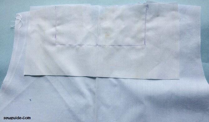 patrón libre para coser un vestido sencillo