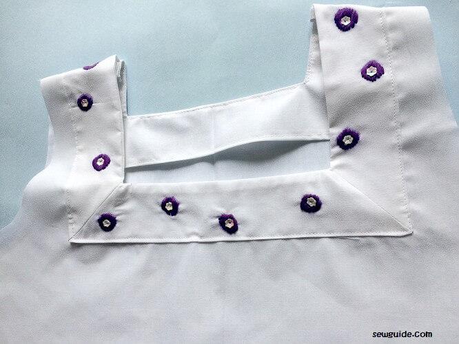 patrón de costura libre para hacer un vestido simple