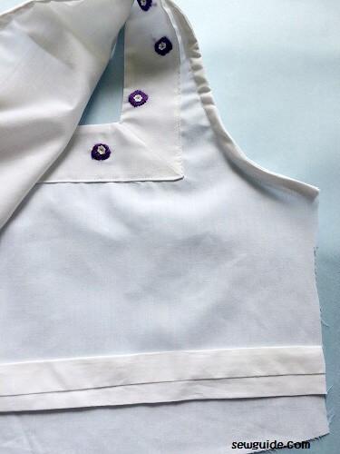 coser un vestido sencillo de hacer