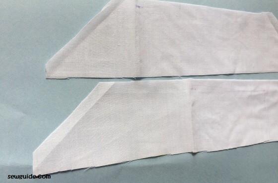 como coser un vestido