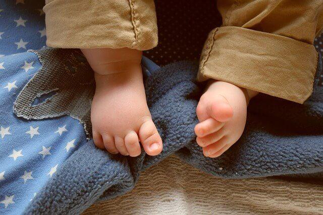 manta de bebé diy