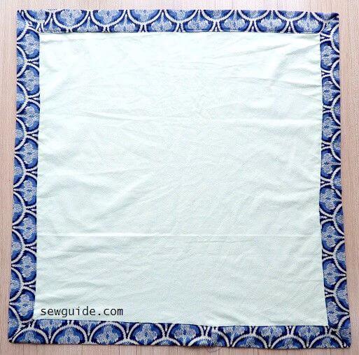 coser manta de bebé fácil
